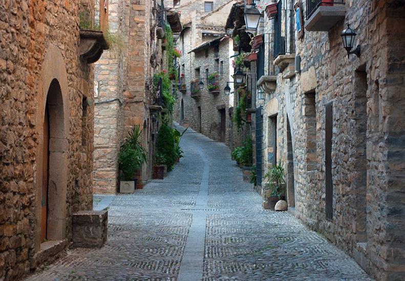 Ainsa en Huesca Comarca del Sobrarbe