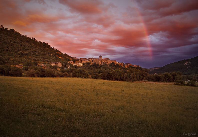 Boltaña en la Comarca del Sobrarbe Huesca