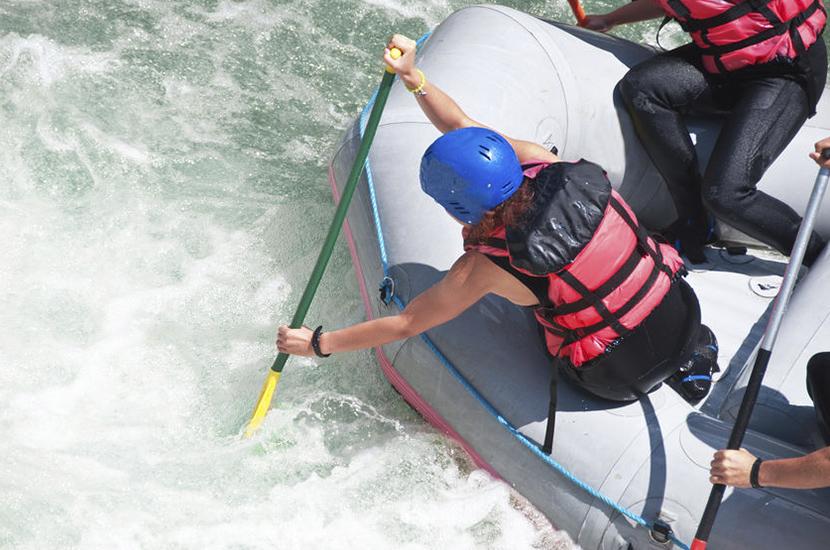 Rafting en el rio ara los pirineos